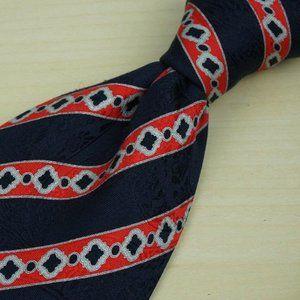 Stefano Ricci Navy Blue Light Cranberry Red tie